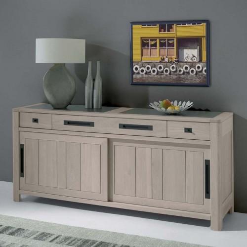 bahut 2 portes deauville grand mod le meubles de normandie. Black Bedroom Furniture Sets. Home Design Ideas