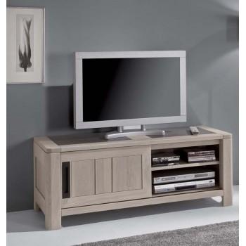Meubles tv hifi meubles de normandie for Meuble porte tele