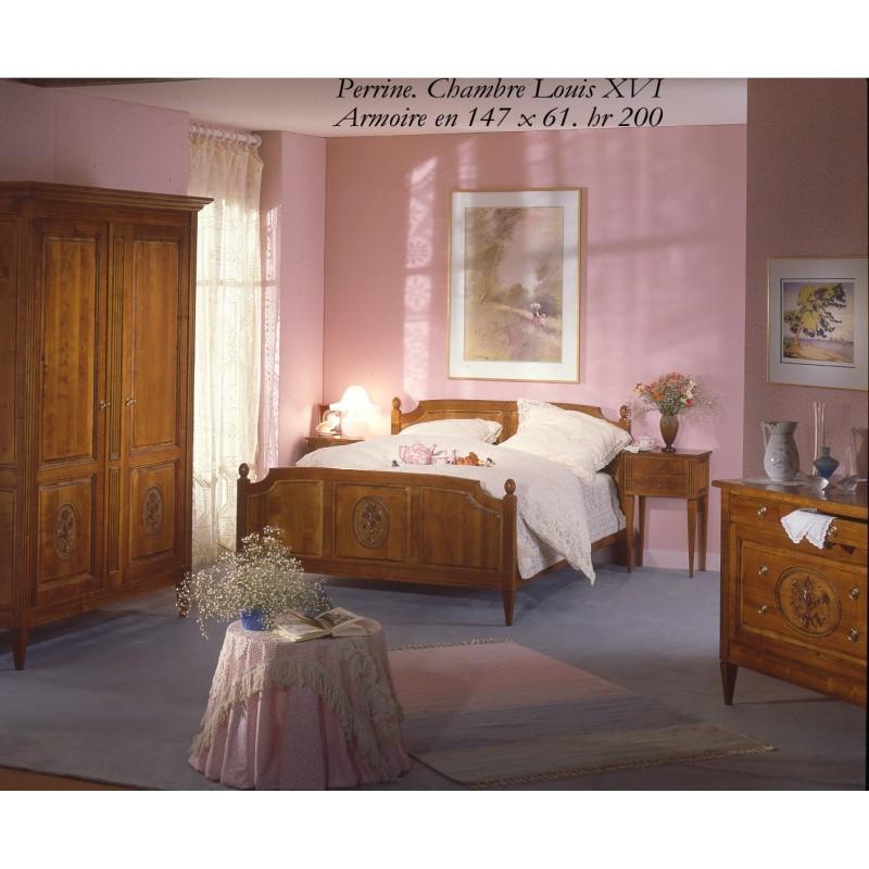 Déco Chambre Meuble Merisier : Chambre style louis xvi