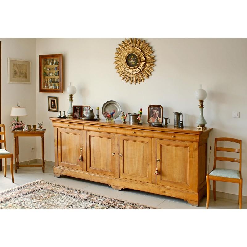 bahut 4 portes corinne meubles de normandie. Black Bedroom Furniture Sets. Home Design Ideas