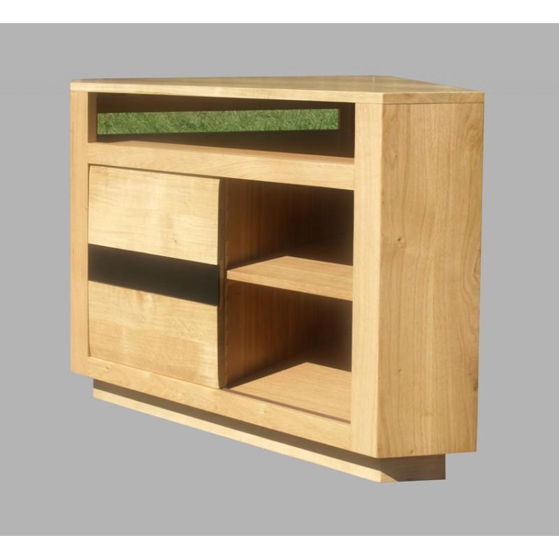 meuble d 39 angle t l oslo n 3 meubles de normandie. Black Bedroom Furniture Sets. Home Design Ideas