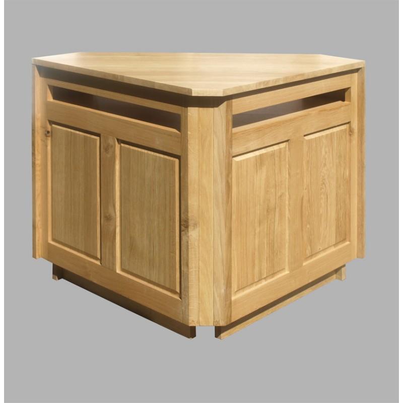 Meuble d 39 angle t l oslo n 3 meubles de normandie - Meubles tele d angle ...
