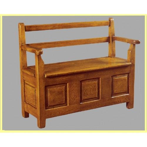 pin banquette coffre en bois de sapin ou ch ne 100 massif on pinterest. Black Bedroom Furniture Sets. Home Design Ideas