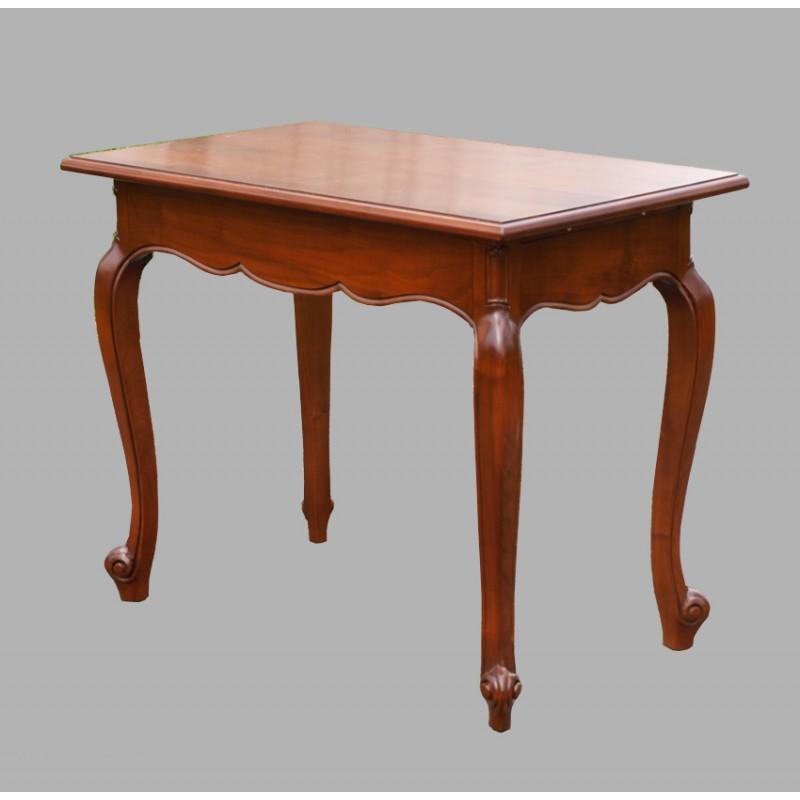 petite table merisier meubles de normandie. Black Bedroom Furniture Sets. Home Design Ideas